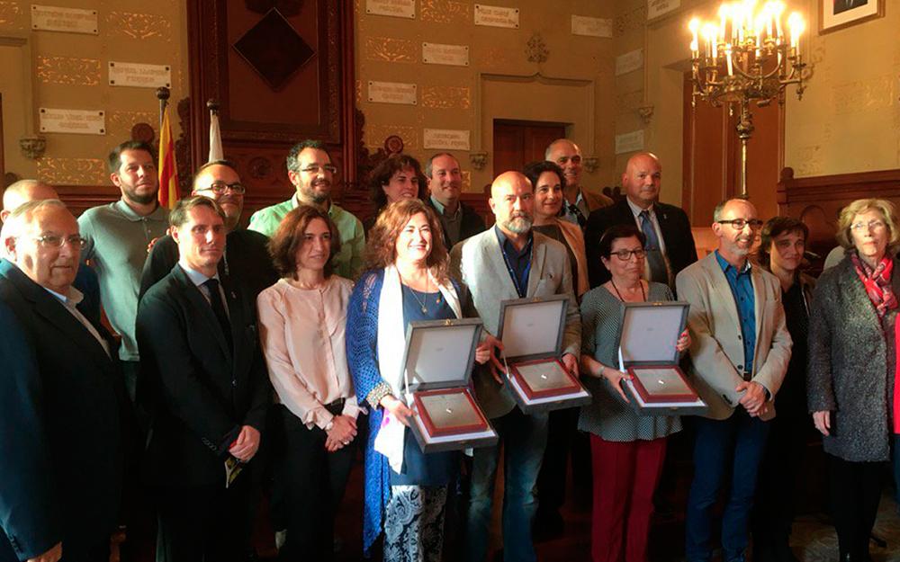 La Generalitat atorga la Creu de Sant Jordi al Prado