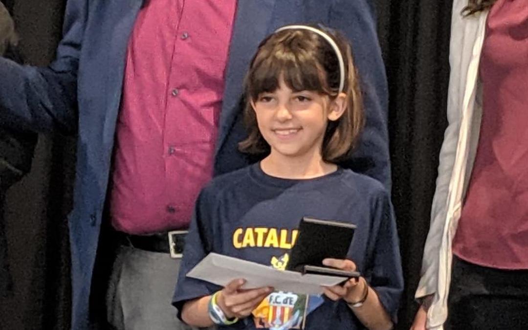 Martina Lázaro Campiona de Catalunya