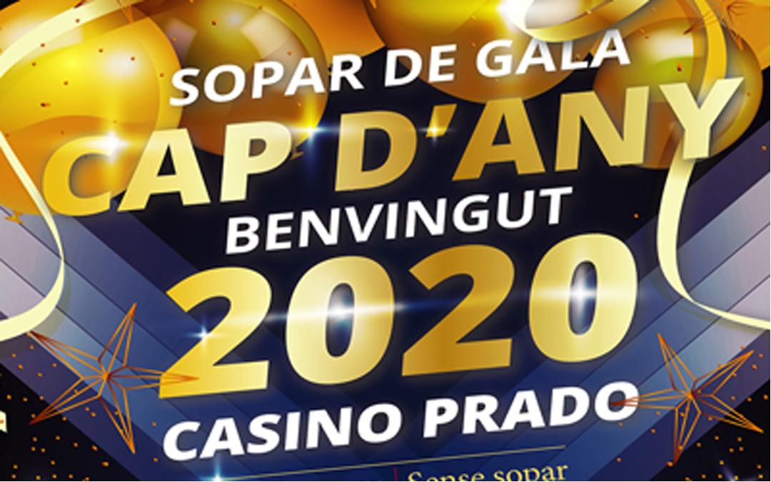 SOPAR DE GALA – CAP D'ANY
